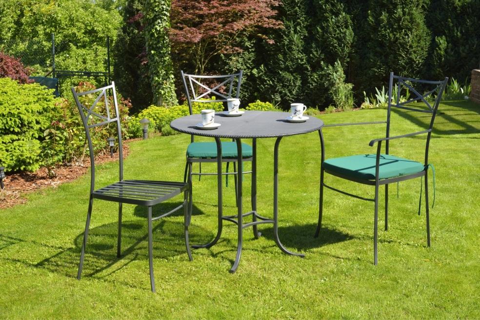 gartentisch algarve schmiedem bel metallm bel iron art. Black Bedroom Furniture Sets. Home Design Ideas