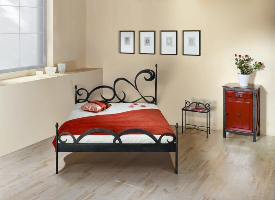 bett cartagena schmiedem bel metallm bel iron art. Black Bedroom Furniture Sets. Home Design Ideas