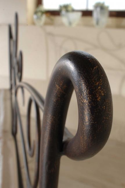 bett siracusa kanapee schmiedem bel metallm bel iron art. Black Bedroom Furniture Sets. Home Design Ideas