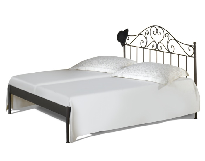 bett malaga kanapee schmiedem bel metallm bel iron art. Black Bedroom Furniture Sets. Home Design Ideas