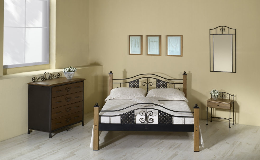 bett elba schmiedem bel metallm bel iron art. Black Bedroom Furniture Sets. Home Design Ideas