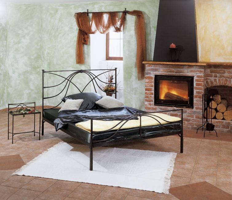 bett calabria schmiedem bel metallm bel iron art. Black Bedroom Furniture Sets. Home Design Ideas