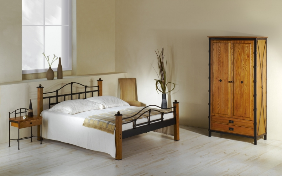 bett alcatraz schmiedem bel metallm bel iron art. Black Bedroom Furniture Sets. Home Design Ideas