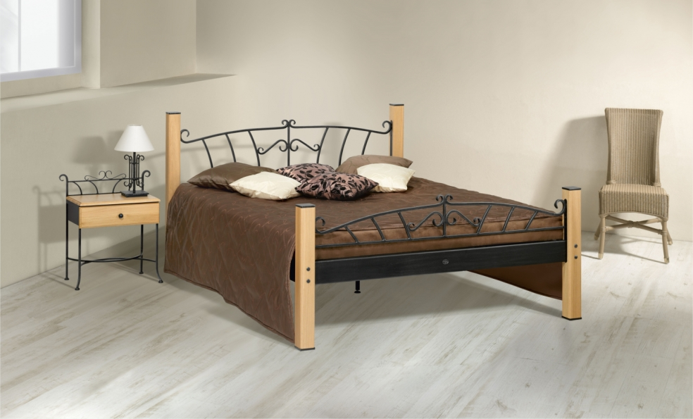 bett altea schmiedem bel metallm bel iron art. Black Bedroom Furniture Sets. Home Design Ideas