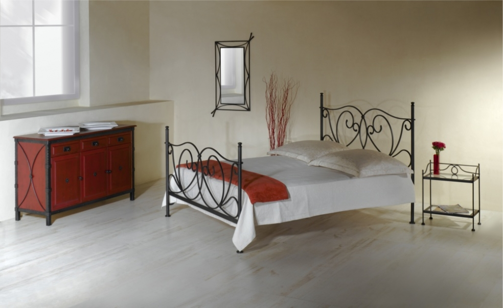 bett galicia schmiedem bel metallm bel iron art. Black Bedroom Furniture Sets. Home Design Ideas