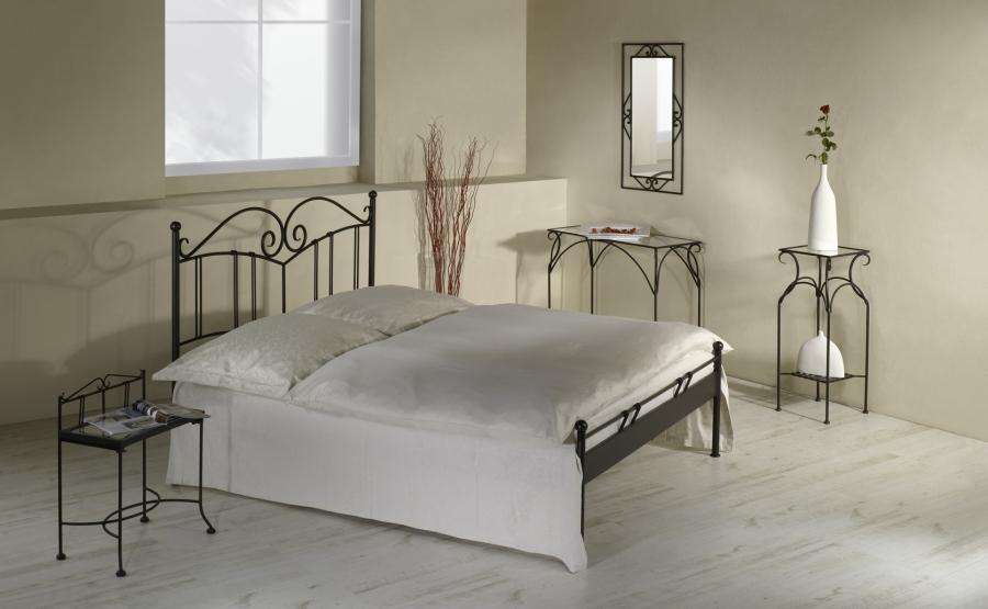bett sardegna schmiedem bel metallm bel iron art. Black Bedroom Furniture Sets. Home Design Ideas