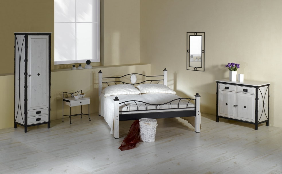 bett stromboli schmiedem bel metallm bel iron art. Black Bedroom Furniture Sets. Home Design Ideas