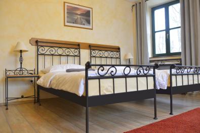 Einzelbett Romantic aus Eisen schwarz