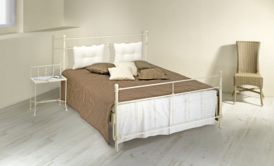Bett aus Schmiedeeisen Amalfi