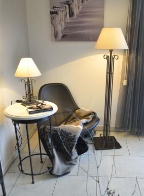 Tischlampe Tischleuchte  Saumur aus Eisen geschmiedet