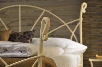Bett aus Schmiedeeisen 200 x 200 cm