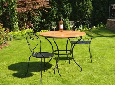 Gartenmöbel Monpelier, Gartentisch aus Metall