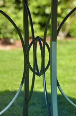 Gartentisch - Tischgestell - Detail
