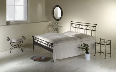 bett romantic schmiedem bel metallm bel iron art. Black Bedroom Furniture Sets. Home Design Ideas