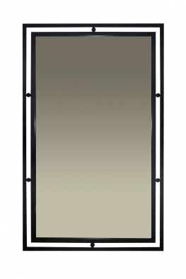 Spiegel im Rahmen aus Eisen San Remo