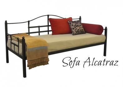 Tagesbett Schlafsofa aus Metal Alcatraz