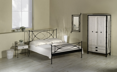 bett tholen schmiedem bel metallm bel iron art. Black Bedroom Furniture Sets. Home Design Ideas