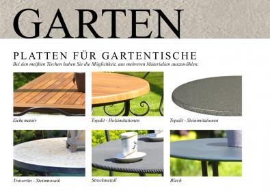 Gartenmöbel Tischplatten Angebot