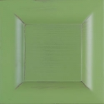 D6 Eiche massiv - grün Patina