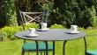 Tischplatte Streckmetall - rund